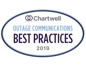 Chartwell Outage Communications Best Practices Award 2019