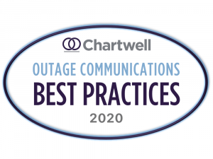 Chartwell Outage Communications Best Practices Award 2020